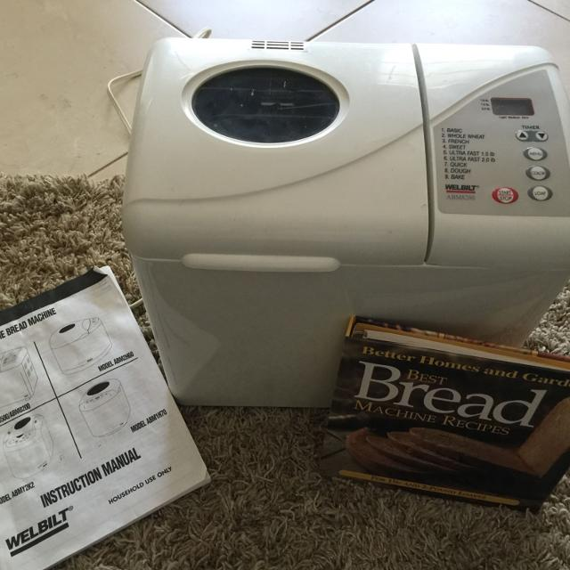 Find More Welbilt Abm8200 Bread Machine Used Once 40 For Sale At