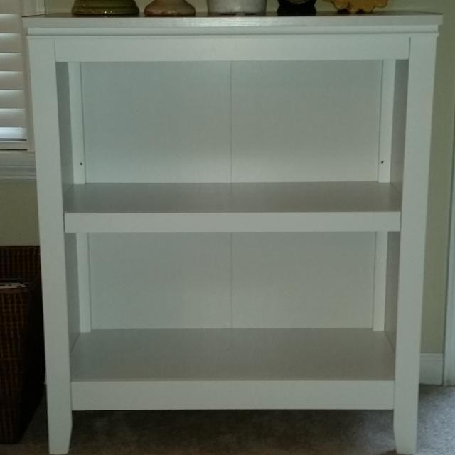 Brand New Threshold Carson 2 Shelf Bookcase From Target Used For A Week Retails For 70 36 X 31 X 14 Pick Up In Whitehouse