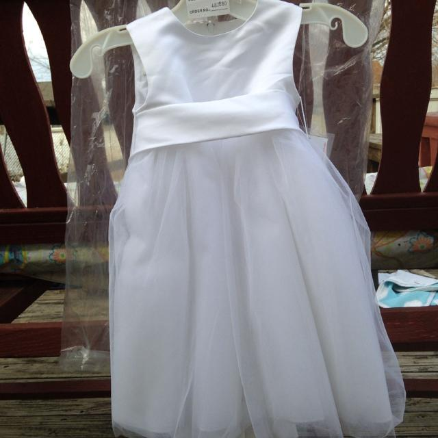 0d456801a6a Best David s Bridal Flower Girl Dress 18 Months for sale in Piatt County