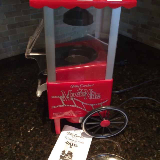 Betty crocker cinema-style popcorn maker, red walmart. Com.