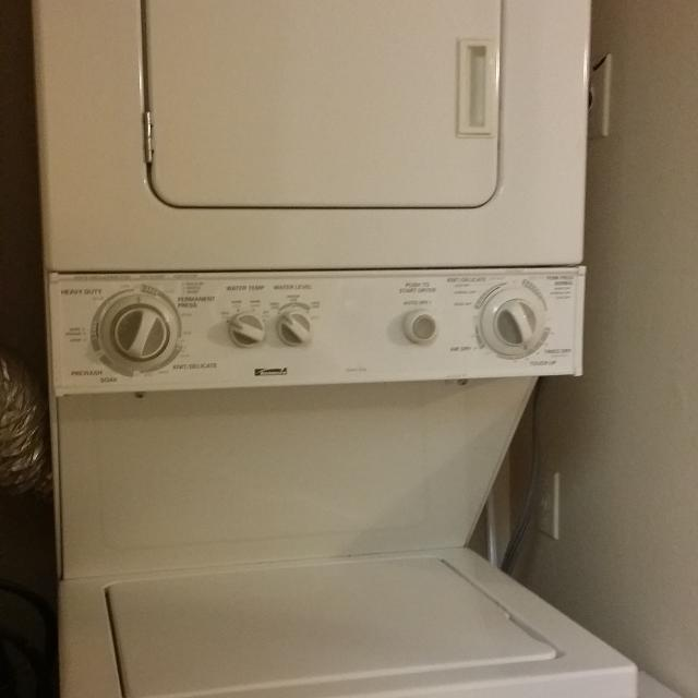 How To Disassemble The Kenmore Stacked Washer Dryer Www