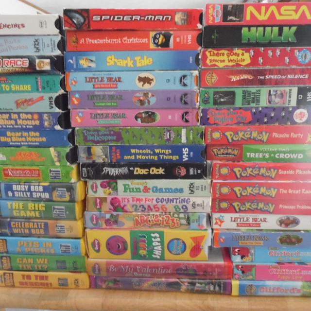 Children Vhs tapes