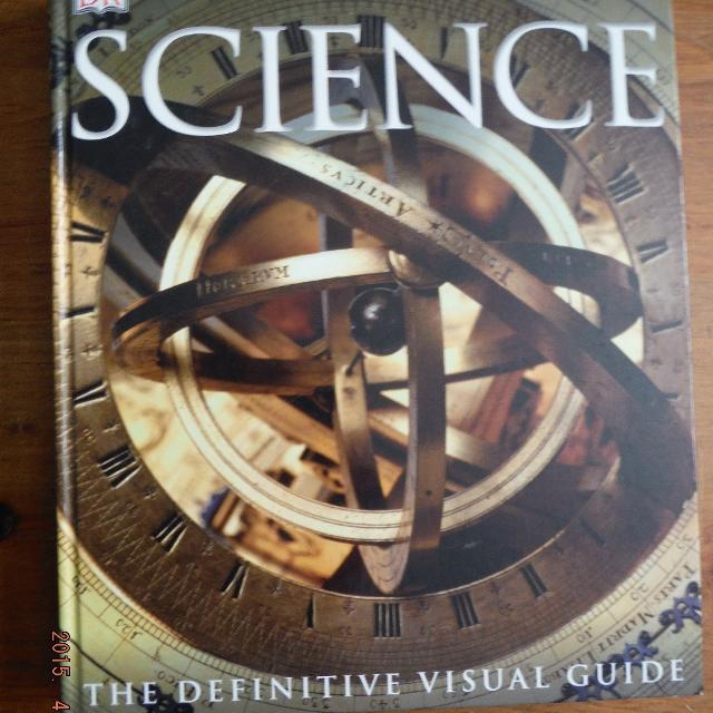 DK Science The Definitive Visual Guide Huge Hard Cover FREE