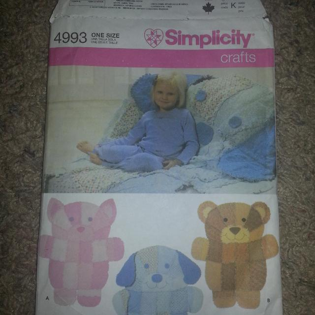 Find more Simplicity Pattern #4993 for sale at up to 90% off ...