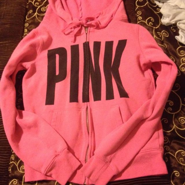 Find more Victoria's Secret, Love Pink Zip Up Sweater. Size Small ...