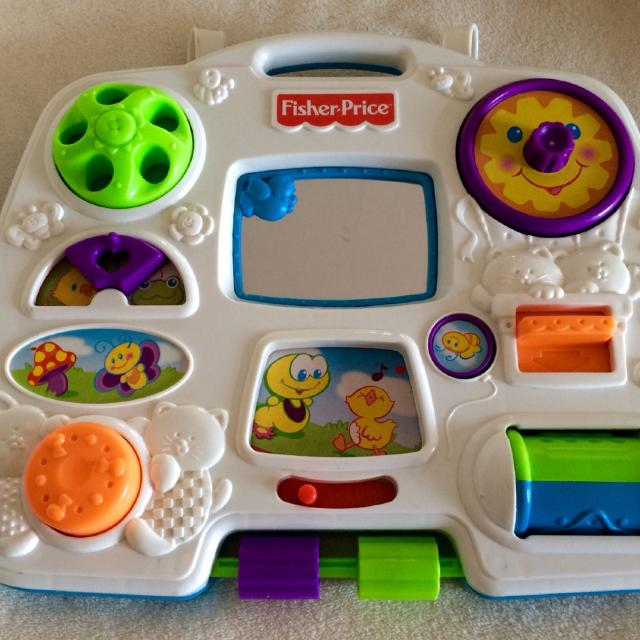 Find More Vintage Fisher Price Crib Activity Center For Sale At Up