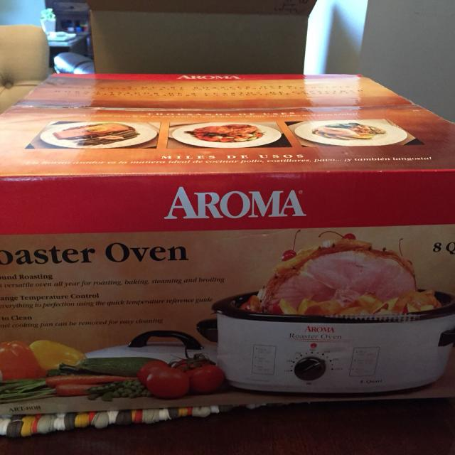 Aroma 8 Quart Roaster Oven Brand New In Box Is Still Sealed From