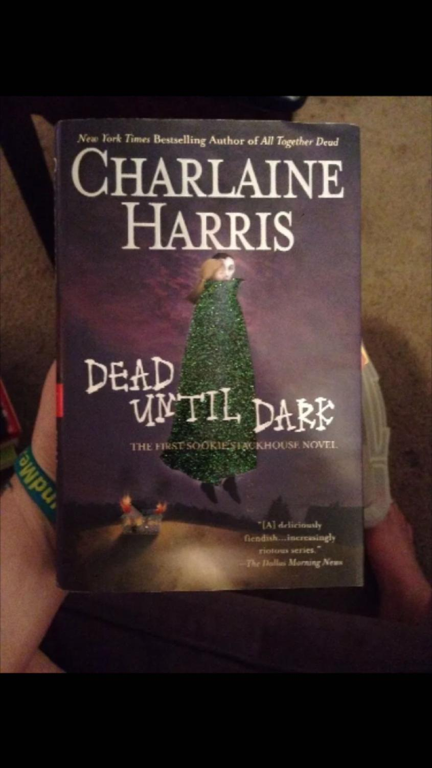 Best Dead Until Dark By Charlaine Harris Book 1 In Sookie Stackhouse True  Blood Series Hardcover For Sale In Metairie, Louisiana For 2017