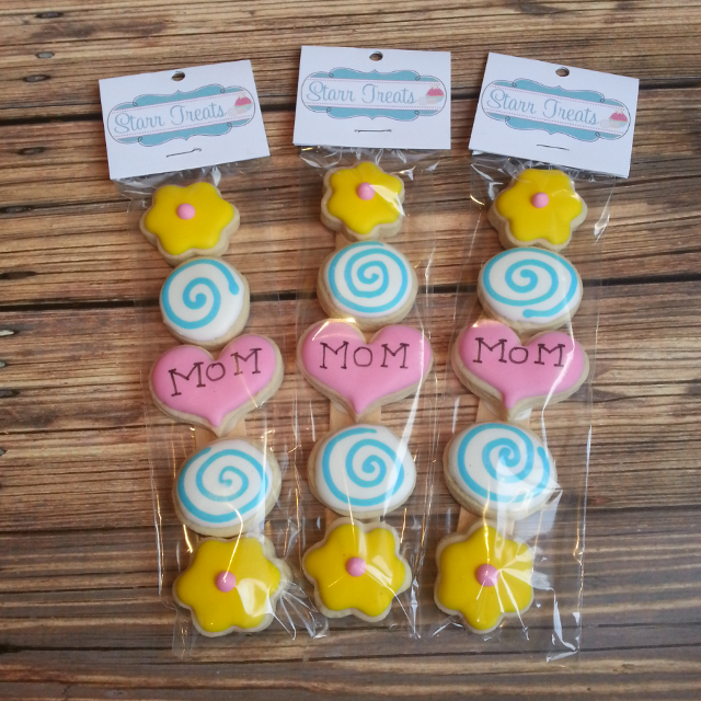 Mothers Day Mini Sugar Cookies