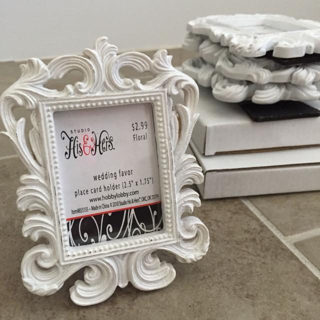 Find More 6 Mini White Frames Brand New For Sale At Up To 90 Off