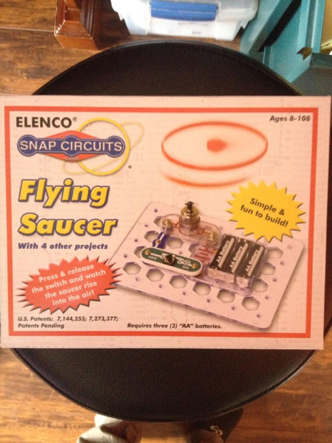 Find More Snap Circuits Flyer Saucer Project Kit For Sale At Up To Elenco Flying Easy Build Provides Hours Of Fun 90 Off Airdrie Ab