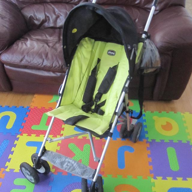 Find more Chicco Capri Stroller Umbrella Lime Green for sale at up ...