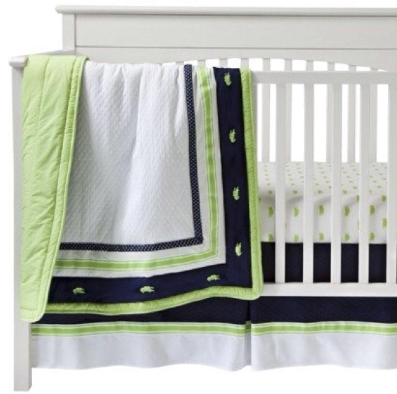 Find More Bananafish Nantucket Alligator Baby Boy Bedding Includes Sheet Per Skirt And Quilt See Desc For At Up To 90 Off
