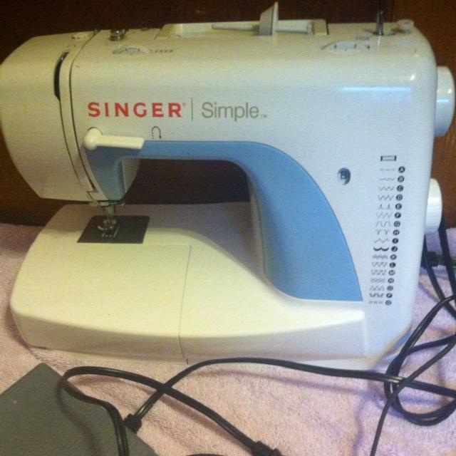 Find More Singer Sewing Machine Singer Simple Model 40 For Sale Interesting Singer Sewing Machine Model 3116