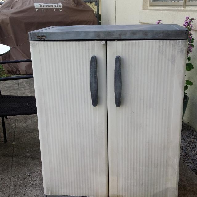 Find More Black And Decker Plastic Outdoor Storage Cabinet For Sale
