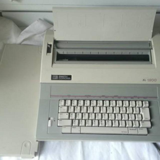 Find More Smith Corona Xl 1900 Electric Typewriter For Sale At Up To 90 Off
