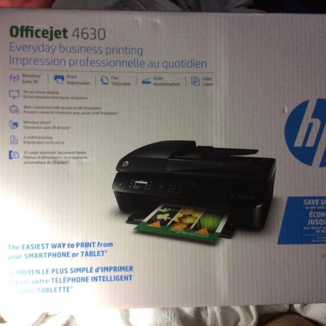 install hp officejet 4630 wireless