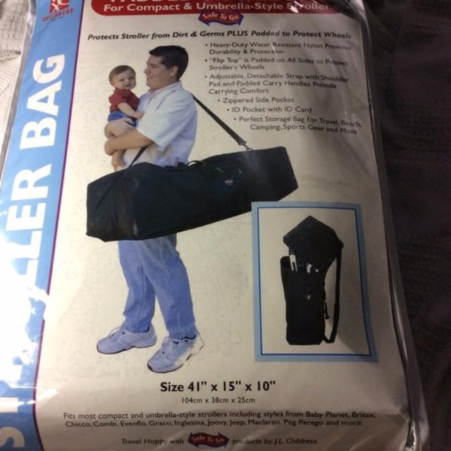New J L Childress Padded Umbrella Stroller Travel Bag