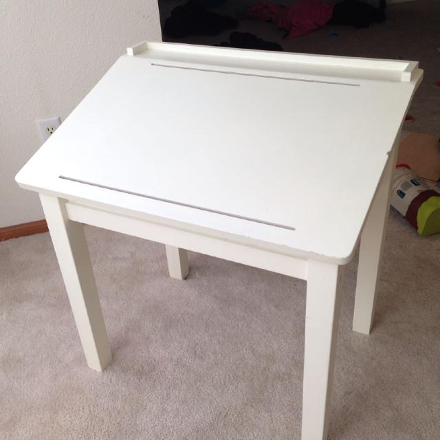 Find More Pottery Barn Kids Art Table For Sale At Up To Off - Pottery barn art table