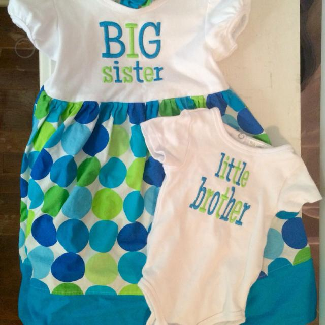 3574777e6322 Best Matching Big Sister/little Brother Outfits. for sale in La Grange,  Texas for 2019