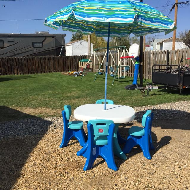 Interesting Step2 Table And Chair Set With Umbrella Ideas - Best ...