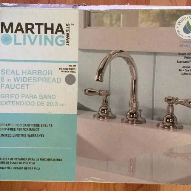 Martha Living Bathroom Faucet