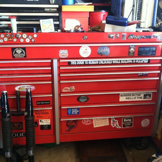 "best snap on tool box 14 drawer,45""x54""x29"" model # krl1001b asking ..."