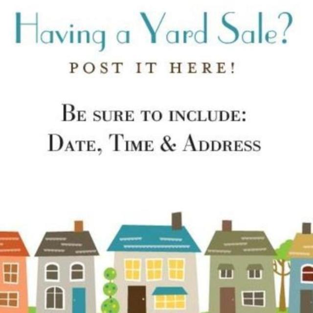 Yard Sale Ads
