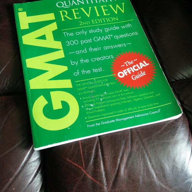 Read book the official guide for gmat quantitative review, 2nd.
