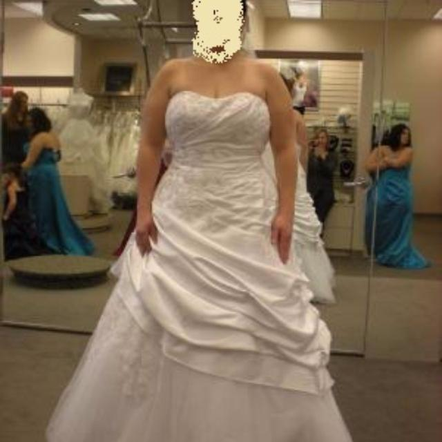 size 22 wedding dress from davids bridal