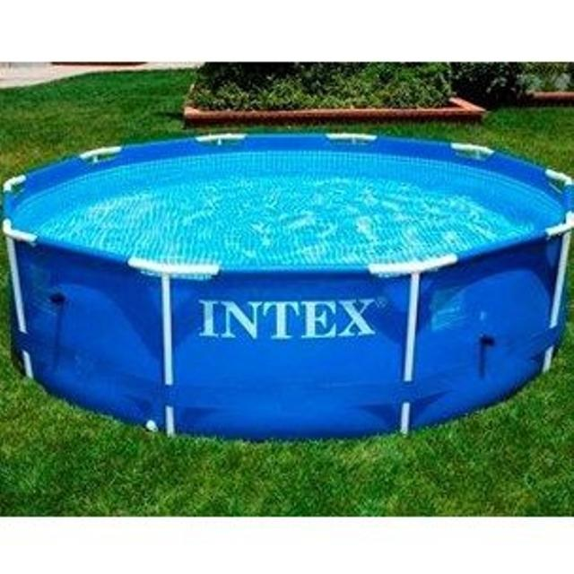 Find more New Price Intex 10\' X 24\' Round Metal Frame Pool for sale ...