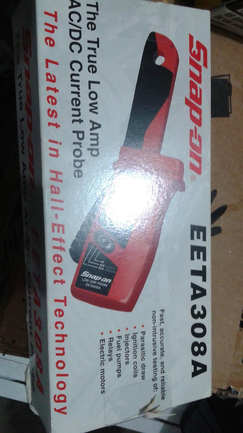 Snap-on AC/DC low current probe