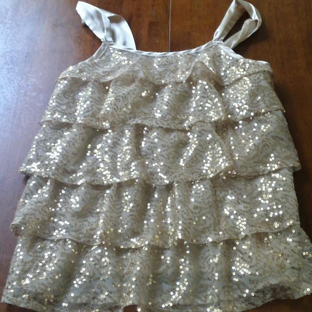 63f8bf0f Best Justice Gold Sequins Tank Top...girls Size 12 for sale in Tampa,  Florida for 2019