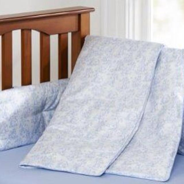 Pottery Barn Abc Toile Crib Bedding Set Barely Used In Excellent Condition Includes Per