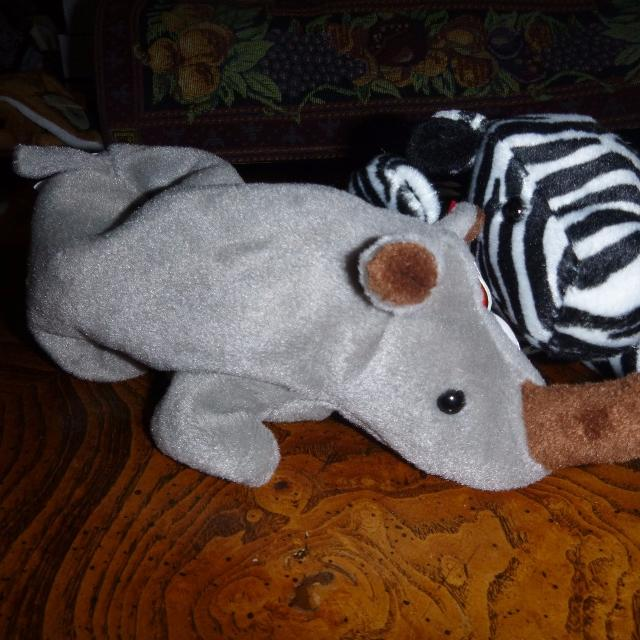 d54fdfde675 Best Ty Beanie Babies  Spike The Rhino   Ziggy The Zebra for sale in  Dollard-Des Ormeaux