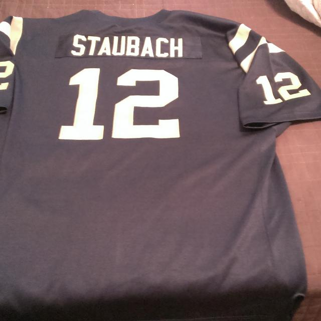 the best attitude 69956 78622 Throwback Roger Staubach Naval Academy College Jersey
