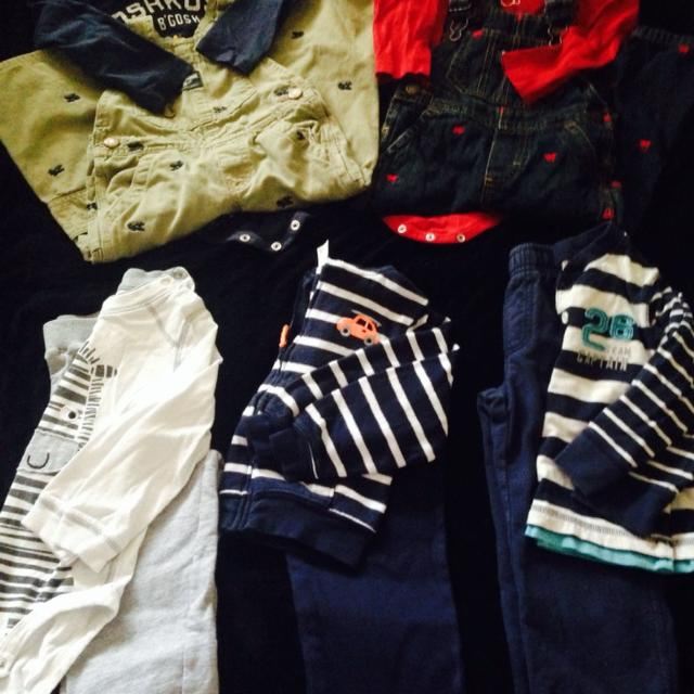 Find More 24 Month Outfit Lot 2 Carters Overall Outfits 2 Carters