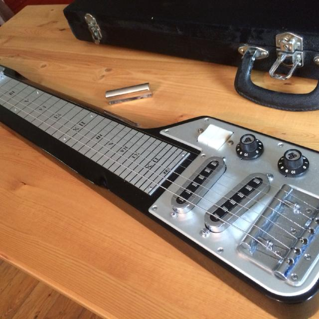 Find More Vintage Lap Steel Guitar In Very Good Condition