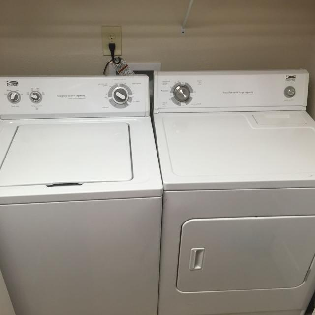 Estate Brand Heavy Duty Super Capacity Washer And Dryer Set More Pictures In Comments