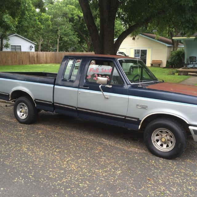 Reduced!! 1989 Ford F150 Lariat XLT with rebuilt engine and new tires
