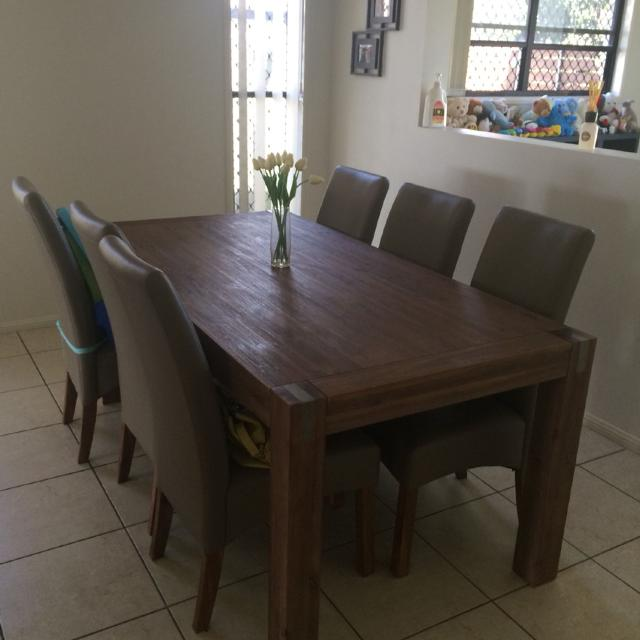 Silverwood Solid Wood Dining Table And Chairs