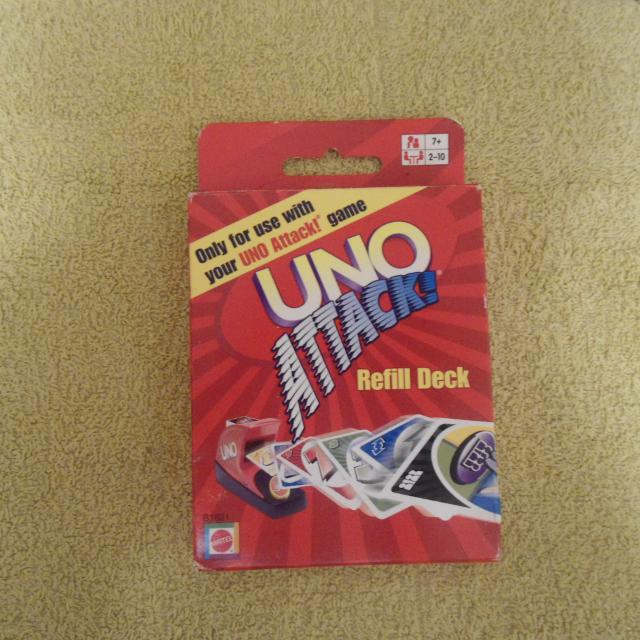 Find More Uno Attack Refill Deck New For Sale At Up To 90 Off