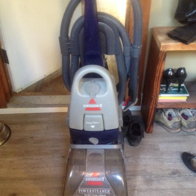 Power Steamers For Cleaning ~ Find more bissell carpet cleaner power steamer upright