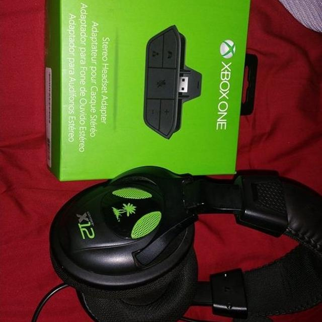 Xbox one headset adapter  With xbox 360 turtle beaches