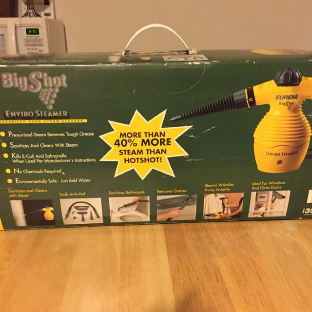 Find More Eureka 351 Big Shot Enviro Steamer Handheld Steam Cleaner