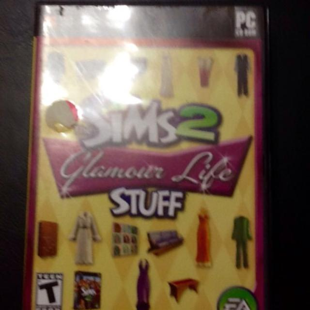 The Sims 2 Glamour Life Stuff PC ROM