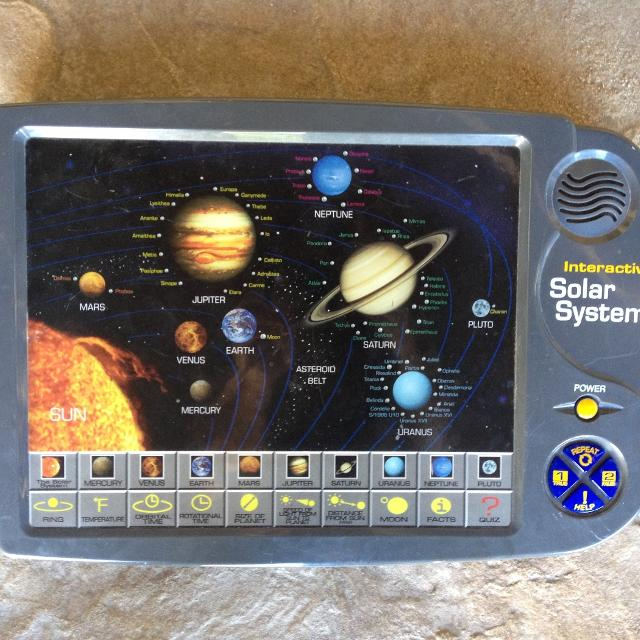 Interactive Solar System Educational Game By Scientific Toys