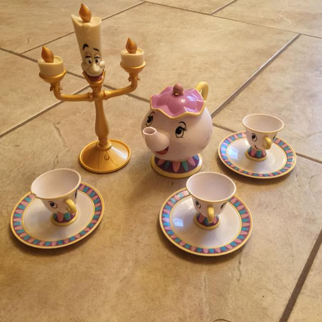 Find More Disney Store Beauty And The Beast Tea Set For Sale At Up