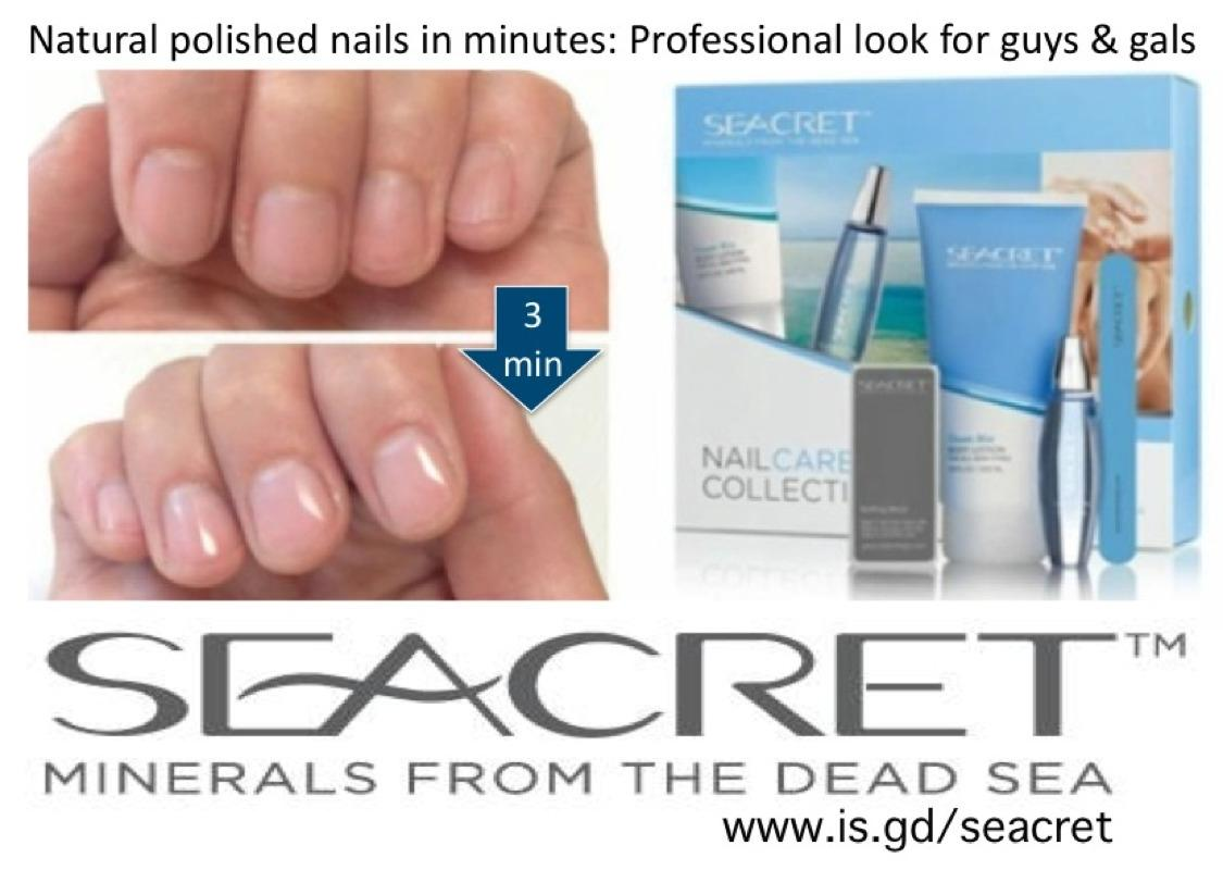 Best Professional, Polished Nails In Minutes, On The Fly And Lasts For Weeks! Seacret™ Nail Care Collection for sale in Markham, Ontario for 2019