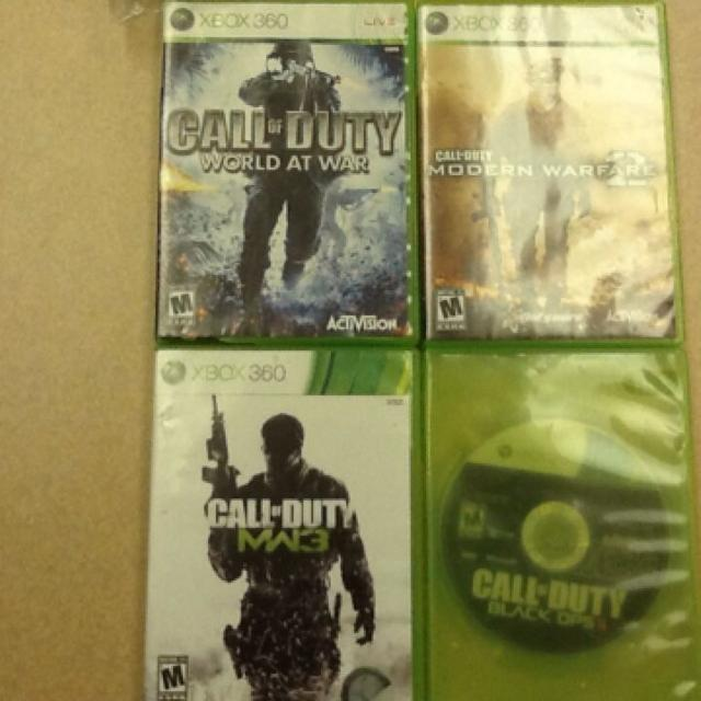 BLACK OPS 2 IS SOLD  Call of Duty WAW, Call of Duty MW2, Call of Duty MW3  still available